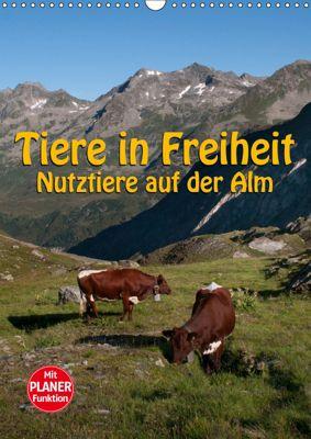 Tiere in Freiheit - Nutztiere auf der Alm (Wandkalender 2019 DIN A3 hoch), Georg Niederkofler