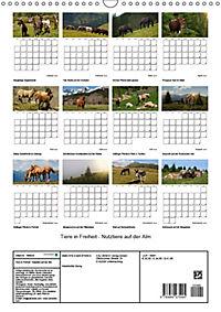 Tiere in Freiheit - Nutztiere auf der Alm (Wandkalender 2019 DIN A3 hoch) - Produktdetailbild 13