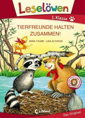 Tierfreunde halten zusammen!, Grossbuchstabenausgabe, Anna Taube