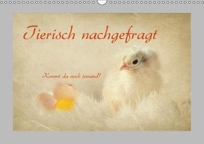 Tierisch nachgefragt (Wandkalender 2019 DIN A3 quer), Heike Hultsch