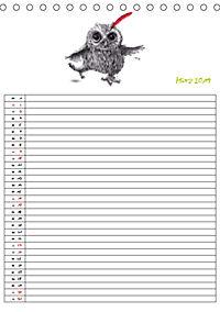 Tieronisch Eulen (Tischkalender 2019 DIN A5 hoch) - Produktdetailbild 3