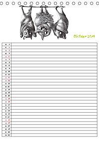 Tieronisch Eulen (Tischkalender 2019 DIN A5 hoch) - Produktdetailbild 10