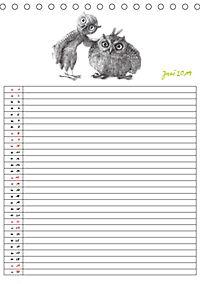 Tieronisch Eulen (Tischkalender 2019 DIN A5 hoch) - Produktdetailbild 6