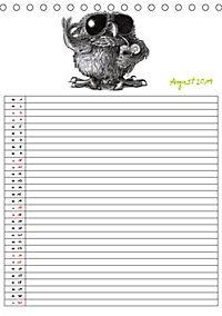 Tieronisch Eulen (Tischkalender 2019 DIN A5 hoch) - Produktdetailbild 8