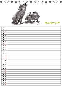 Tieronisch Eulen (Tischkalender 2019 DIN A5 hoch) - Produktdetailbild 11