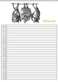 Tieronisch Eulen (Wandkalender 2019 DIN A2 hoch) - Produktdetailbild 10