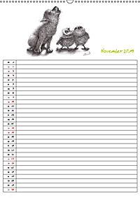 Tieronisch Eulen (Wandkalender 2019 DIN A2 hoch) - Produktdetailbild 11