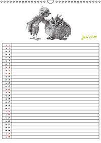 Tieronisch Eulen (Wandkalender 2019 DIN A3 hoch) - Produktdetailbild 6