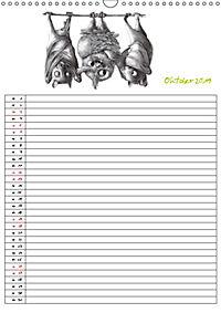 Tieronisch Eulen (Wandkalender 2019 DIN A3 hoch) - Produktdetailbild 10