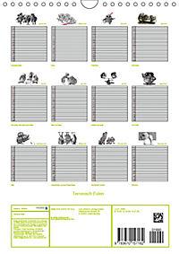 Tieronisch Eulen (Wandkalender 2019 DIN A4 hoch) - Produktdetailbild 13
