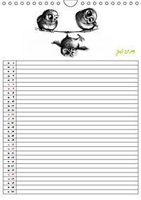 Tieronisch Eulen (Wandkalender 2019 DIN A4 hoch) - Produktdetailbild 7