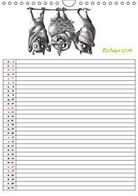 Tieronisch Eulen (Wandkalender 2019 DIN A4 hoch) - Produktdetailbild 10