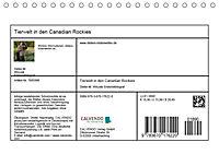 Tierwelt in den Canadian Rockies (Tischkalender 2019 DIN A5 quer) - Produktdetailbild 13