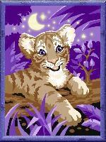 Tiger Im Mondschein