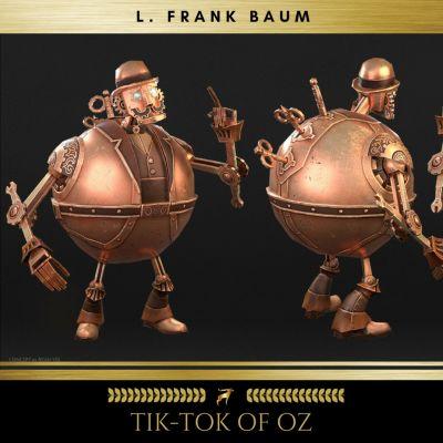 Tik-Tok of Oz, L. Frank Baum