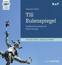 Till Eulenspiegel. Ein kurzweiliges Buch von Till Eulenspiegel aus dem Lande Braunschweig in 96 Historien, 2 MP3-CDs, Bote Hermann