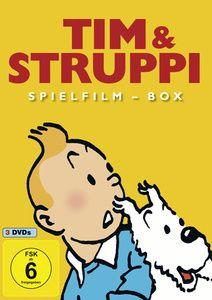 Tim & Struppi Spielfilm-Box, Diverse Interpreten