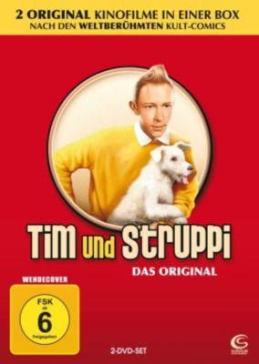 Tim und Struppi, 2 DVDs