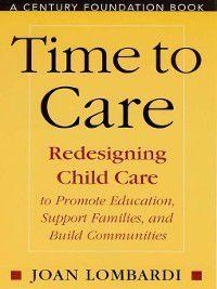 Time to Care, Joan Lombardi