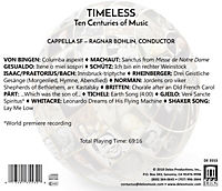 Timeless-Ten Centuries Of Music - Produktdetailbild 1