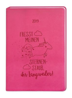 Timer Pink (Einhorn) A6 2019, Grafik Werkstatt