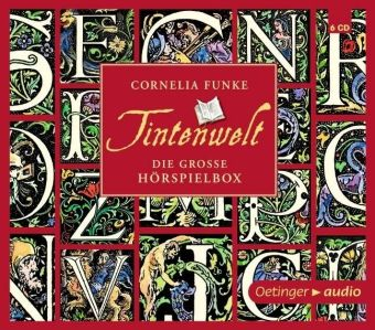 Tintenwelt - Die große Hörbuch-Box, 6 Audio-CDs, Cornelia Funke