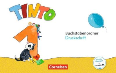 Tinto, Neubearbeitung 2018: 1. Schuljahr - Buchstabenordner Druckschrift
