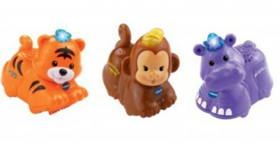 Tip Tap Baby Tiere-Set 2 (Tig/Affe/Nil