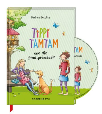 tippi tamtam tippi tamtam und die stadtprinzessin m audio cd buch. Black Bedroom Furniture Sets. Home Design Ideas