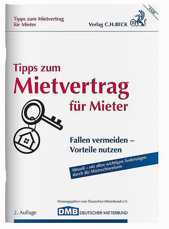 Tipps Zum Mietvertrag Für Mieter Buch Bei Weltbildde Bestellen