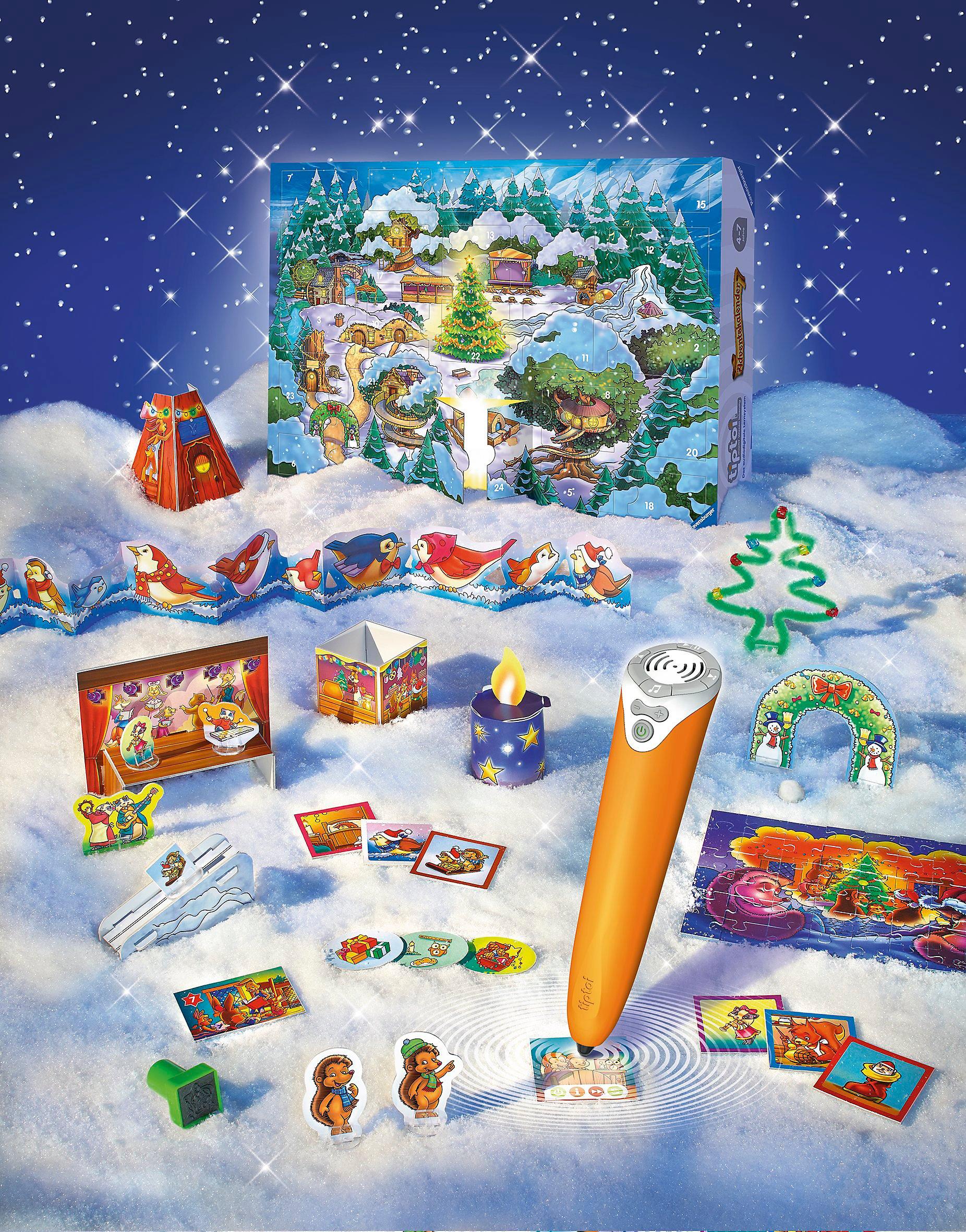 Weihnachtskalender Tiptoi.Tiptoi Adventskalender Kalender Bei Weltbild De Bestellen