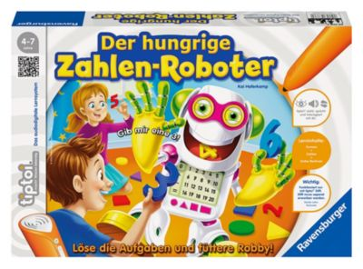 tiptoi Der hungrige Zahlenroboter