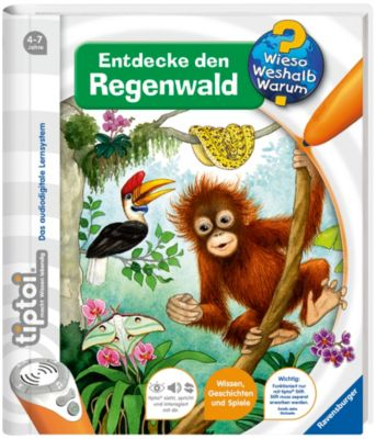 tiptoi®: Entdecke den Regenwald, Inka Friese