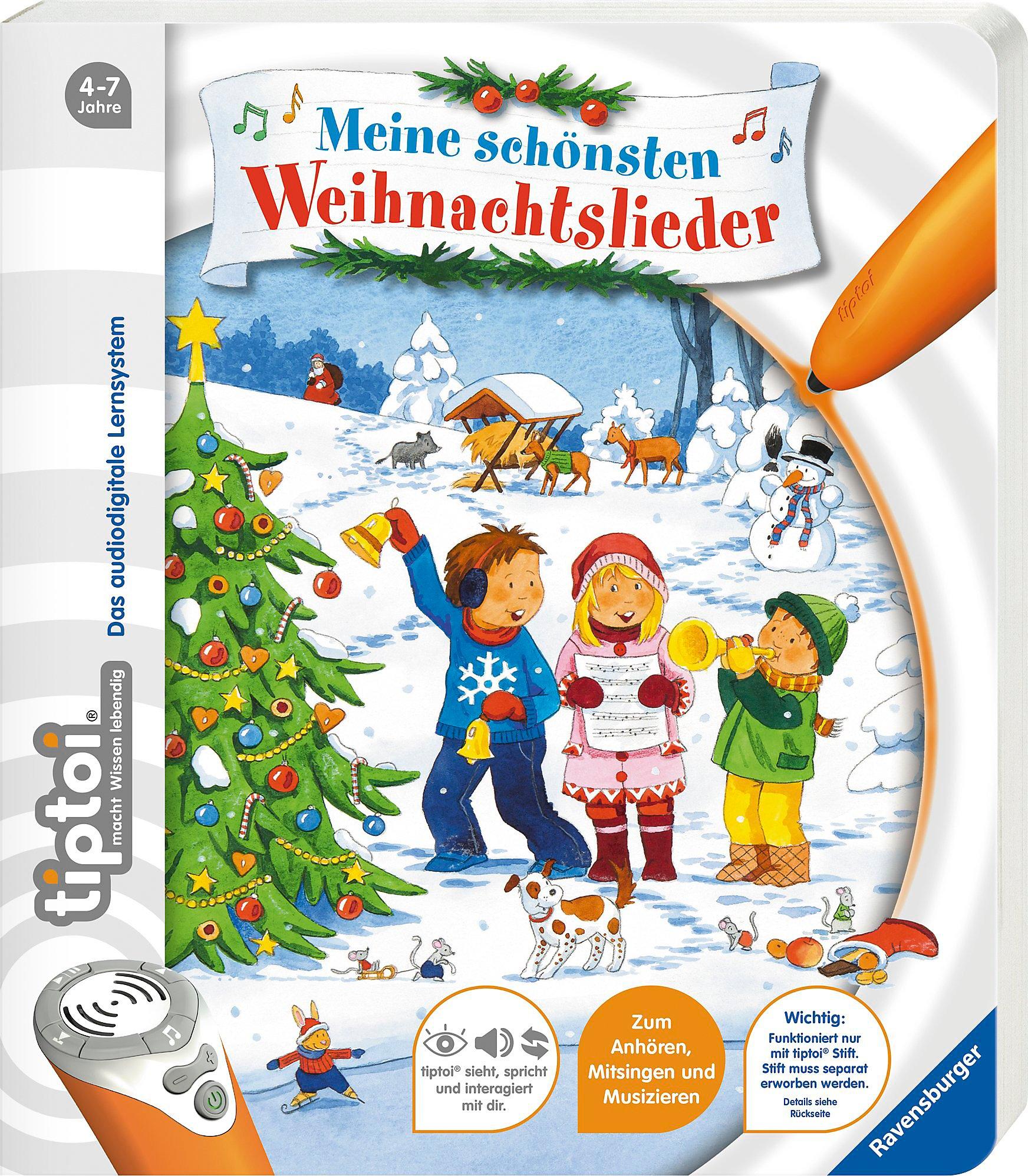 tiptoi® Meine schönsten Weihnachtslieder Buch portofrei bestellen