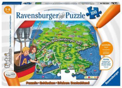 tiptoi®: Puzzle Deutschland (Kinderpuzzle)
