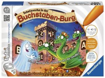 tiptoi®: Schatzsuche in der Buchstaben-Burg (Spiel-Zubehör)
