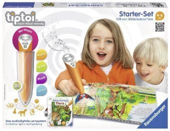 tiptoi®: Starter-Set: 'Bilderlexikon Tiere' mit Stift (Spiel)