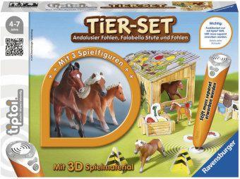 tiptoi®: Tier-Set Falabellas, tiptoi Spielfigur mit Steuerungskarten