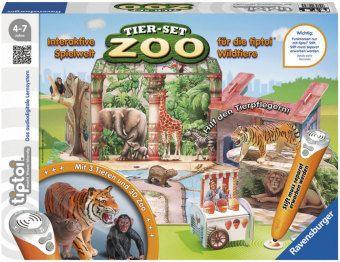 tiptoi®: Tier-Set Zoo, tiptoi Spielfigur mit Steuerungskarte
