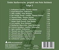 Tiroler Harfenstücke Iii - Produktdetailbild 1