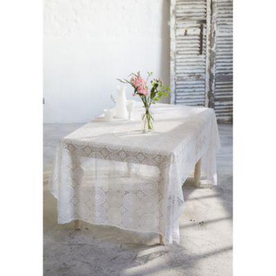 tischdecke spitze weiss 150x264 jetzt bei bestellen. Black Bedroom Furniture Sets. Home Design Ideas