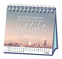 """Tischkalender """"Genieße deine Zeit"""" 2018 - Produktdetailbild 11"""
