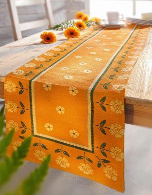 Tischläufer Blumen