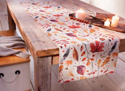 Tischläufer Herbstblätter