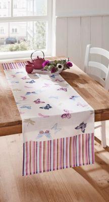 Tischläufer Papillon