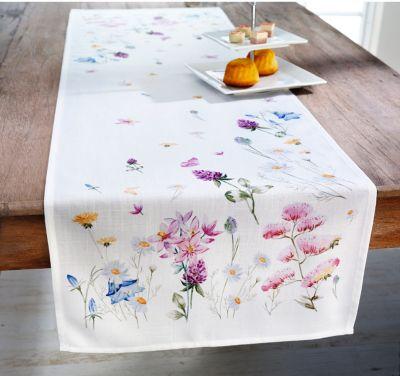 Tischläufer Wiesenblüten