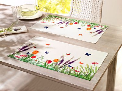 Tischsets Blumenwiese, 2er-Set