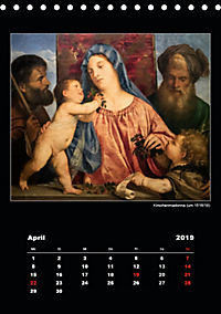 Tiziano Vecellio - Tizian (Tischkalender 2019 DIN A5 hoch) - Produktdetailbild 4