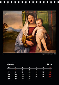 Tiziano Vecellio - Tizian (Tischkalender 2019 DIN A5 hoch) - Produktdetailbild 1