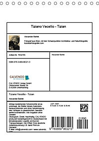 Tiziano Vecellio - Tizian (Tischkalender 2019 DIN A5 hoch) - Produktdetailbild 13